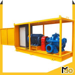 Moteur diesel ferme de l'assèchement de la pompe à eau