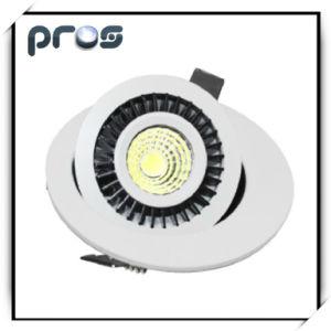 Un indicatore luminoso registrabile da 360 gradi LED giù, nuovo disegno Downlight LED