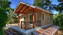Edificios con estructura de acero de luz /casas prefabricadas y Casas Móviles