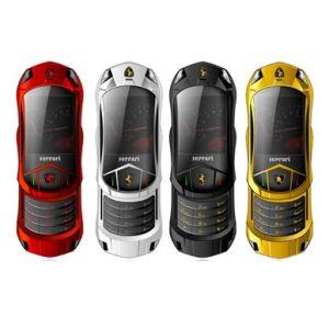 F688 Quadband duplo SIM Telefone Televisão 2.0Inch Design carro deslizante