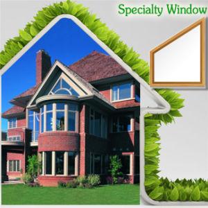 Janela de alumínio especiais moderno para a sua casa feita pela fábrica da China, janela com eficiência energética durante o inverno frio