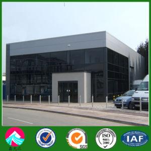 Diseño de modernos edificios con estructura de acero para showroom prefabricados
