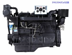 Mariene Motor, 135 Reeksen, 66kw, 4-slag, Met water gekoelde, Directe Injectie, Gealigneerd, de Dieselmotor van Shanghai Dongfeng voor de Reeks van de Generator, Motor Dongfeng