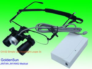 Headlight Magnifier LED Headlight博士ルーペ再充電可能な携帯用ヘッドランプ