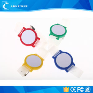 Ecológicas más reciente de RFID de plástico para el deporte reloj de pulsera NFC