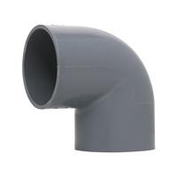 Plastique PVC Pipe Fitting l'approvisionnement en eau avec un solvant mixte norme DIN PN10