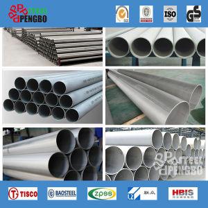 AISI 304 laminados a quente de tubos de aço inoxidável sem costura