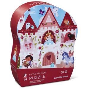 Krokodil-Nebenfluss-kleine Prinzessin Puzzle 24 Stück