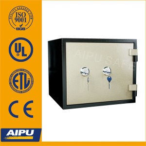 UL 1 Hour Fireproof Safes (Fjp-38-1b-Kk d'Aipu avec Two Key Lock)