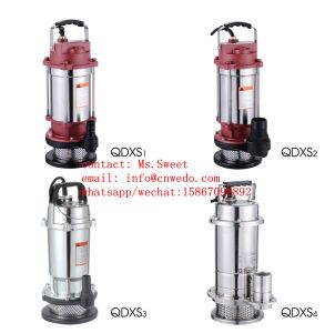 Qdxs 1,25 polegada de água limpa bomba submersível de Aço Inoxidável