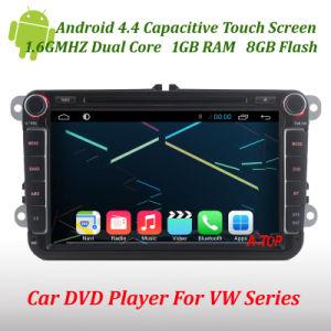 차 Android VW 폭스바겐 Passat Golf를 위한 4.4 DVD Player