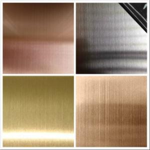 304台所のキャビネットのためのステンレス鋼のヘアライン201ステンレス鋼シート