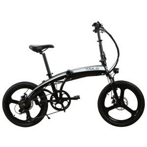 20 pulgadas de bicicleta eléctrica plegable con ruedas de aluminio