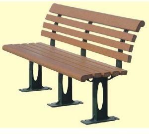 WPC cadeira, cadeira de compostos plásticos de madeira