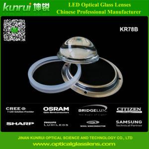 LED de alta potencia la lente de cristal óptico de alta de la luz de la Bahía (KR78B)