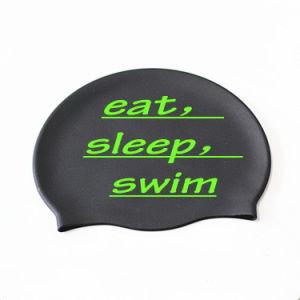 Impressão personalizada nadar Silicone Hat com preço mais baixo