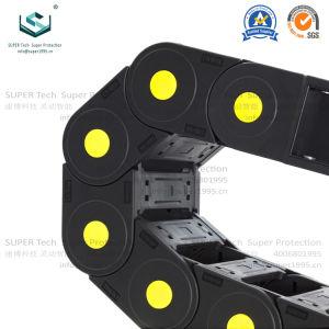 La altura de la serie de 45 mm de nylon PA la energía de la cadena de cable de arrastre de máquina láser