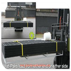 HDPEの頑丈な機械装置のためのプラスチック一時道のマット