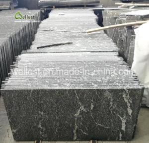G263雪の壁の床の敷物のクラッディングの下見張りの舗装のための灰色の花こう岩のタイル