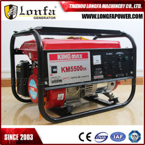 Km5500dx 휴대용 Kingmax 힘 가솔린 발전기