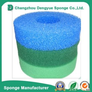 La purificación del agua Oil-Proof Abrir Celled Filtro de goma espuma
