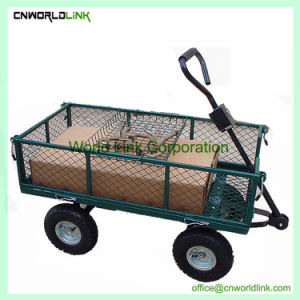 Carro de la playa de alta calidad de la malla de acero de jardín carretilla