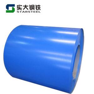 Color RAL Prepainted bobinas de acero galvanizado con SGS Test (PPGI)