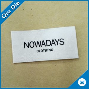Jeans를 위한 유기 Cream Color Fabric Cotton Clothing Labels