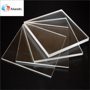 Materiales de 3mm de metacrilato transparente Hoja de PMMA hoja de plástico acrílico