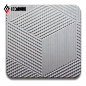 Ideabond PE покрытие рельефным Стены деревянные панели из алюминия для потолка (AE-32D)