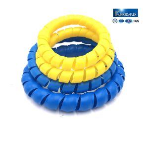 Abnutzung beständiger bunter HDPE Spirale-Schutz für hydraulischen Schlauch-Schoner