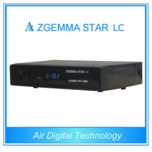 Schwarzer Empfänger-Kabelfernsehen-Kasten Farbe Zgemma-Stern LC-DVB-C Digital
