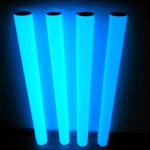 Pet translúcidas de adhesivo de vinilo fotoluminiscente