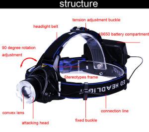 クリー族LED T6 10W再充電可能なLEDのヘッドライト