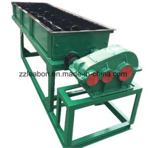 Miscelatore del mescolatore di paletta delle aste cilindriche del doppio della polvere della mattonella del carbone di legna