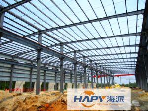 Estructura de acero prefabricados para la cría de aves de la casa con un diseño moderno