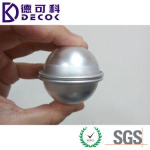 Qualität und gutes, Aluminiumbad-Bomben-Kugel-Form verkaufend