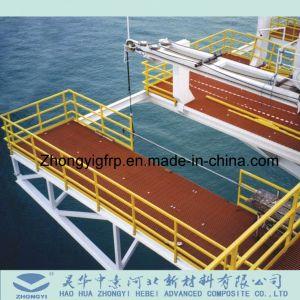 La rejilla de FRP, el ceñidor de FRP, plataforma GRP FRP, rejilla de fibra de vidrio