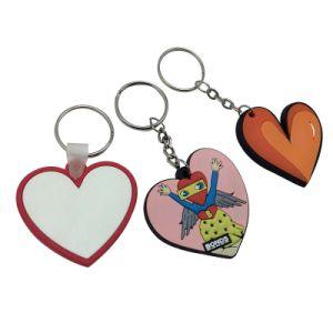 관례 제 2 연약한 PVC Keychain 의 싼 부피 3D 고무 열쇠 고리, 승진 플라스틱 Keychain