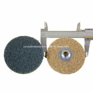 Não Tecidos de Disco de lixa lixa Roloc de nylon para condicionamento de superfície