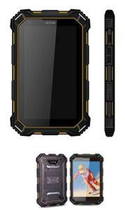 Mejor calidad de 3G resistente Tablet de 7 pulgadas de pantalla táctil Tablet teléfono con Bluetooth Scanne códigos de barras 1D