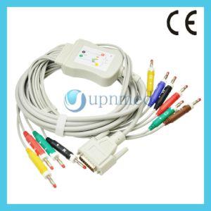 Пвп1500 Nihon Kohden Просто получить актуальную ЭКГ в 10 отведениях с помощью кабеля Leadwires, бананов