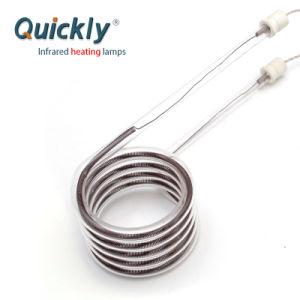 Único Tubo de ondas médias emissores de infravermelhos para a máquina de impressão