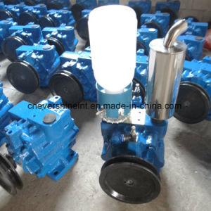 Vakuummelkmaschine-Milch, die Pumpe saugt