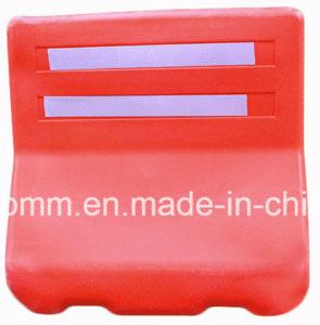 De HDPE tráfego de plástico barreira de estrada