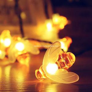 30Jardim Solar LED luzes de Seqüência de abelhas do Dia das Bruxas (RS1032-30)