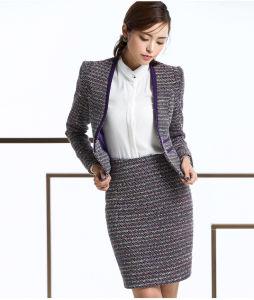 Vestito alla moda della signora pannello esterno dell'ufficio di stile, vestito di pannello esterno moderno della matita delle donne