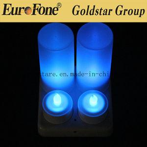 Lâmpada de luz LED Decoratived Cores Multi Recarregável