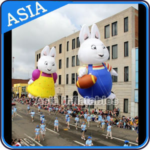 Caricature gonflable lapin jouet ballon hélium ballon pour les enfants