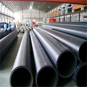 Tubo de HDPE preto para o abastecimento de água